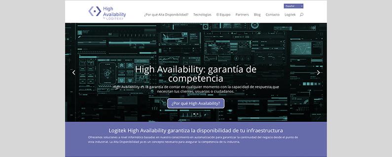"""Presentamos nuestra nueva web """"High Availability"""""""